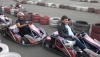 Andrey Krivokorytov and Rosa Pelih on the carting ring
